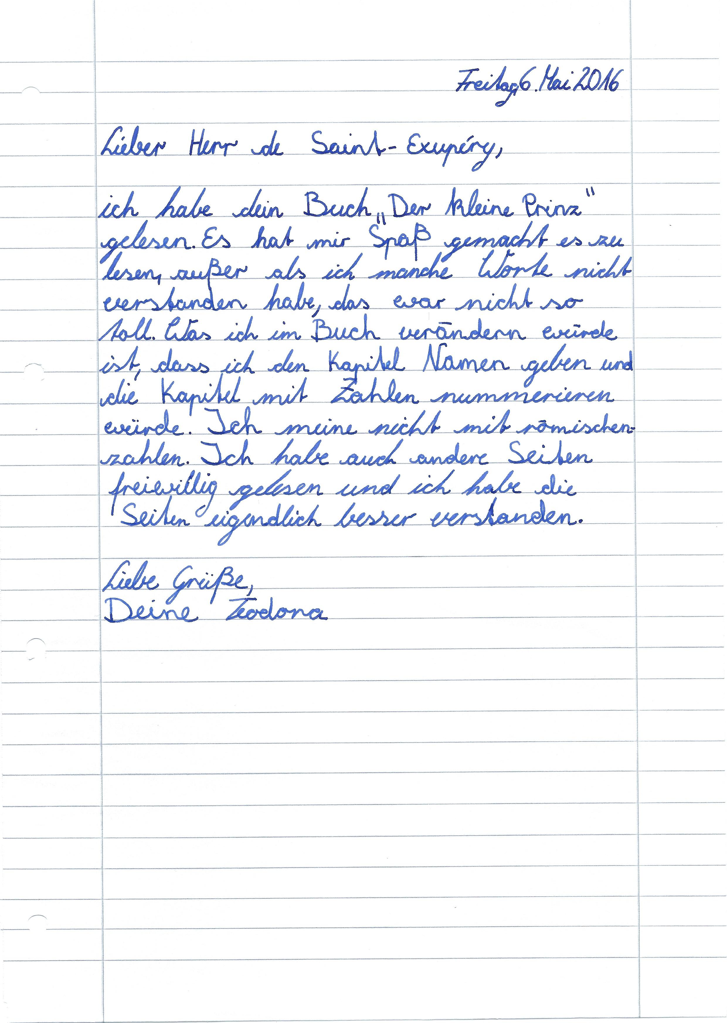 Wie Kann Man Ein Offiziell Brief Schreiben - Couldy